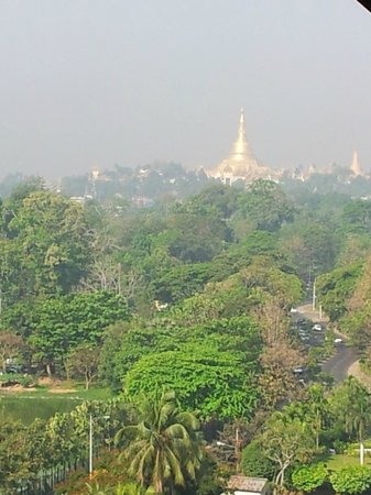 Chatrium Hotel Royal Lake Yangon:                   Shwedagon Pagoda
