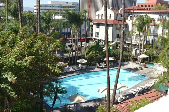 The Mission Inn Hotel and Spa:                                     pool area