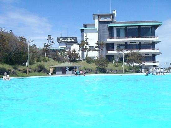 Omaezaki Grand Hotel: muito boa piscina