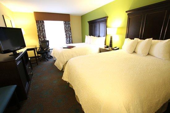 Hampton Inn Iowa City/University Area : 2 Queen Guestroom