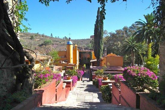 Museo Exhacienda San Gabriel de Barrera:                   small part of the gardens