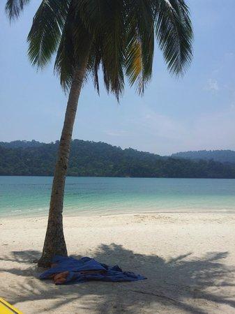 beras besah island