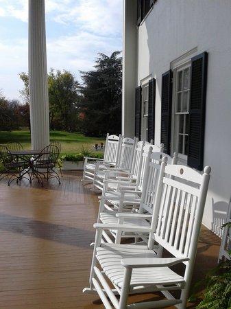 Rosemont Manor:                   Portico seating