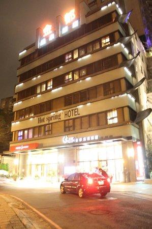 Golden Hot Spring Hotel:                   Hotel outlook
