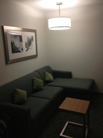 SpringHill Suites St. Louis Airport Earth City:                   Living area