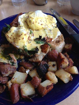 Scandinavian omelet at Up For Breakfast