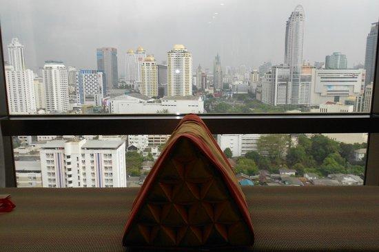 VIE Hotel Bangkok, MGallery by Sofitel:                   Vista de la habitacion