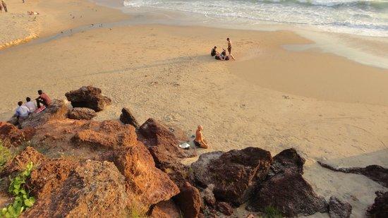 Varkala Beach: Варкальское побережье.