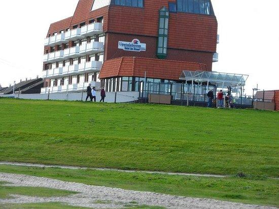 Upstalsboom Hotel Am Strand:                   Vom Strand fotografiert