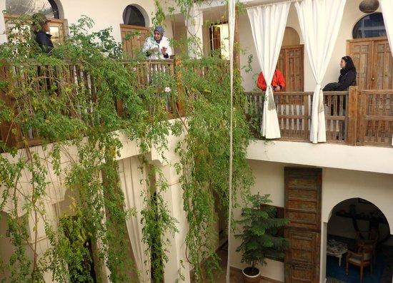 Riad Le Coq Berbere:                   magiche atmosfere e tanto relax