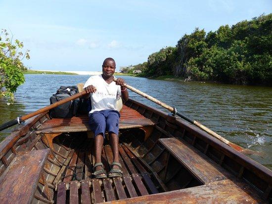 Ras Kutani:                   arrival in paradise
