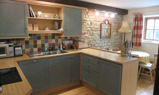 Huntsmill Farm: The Granary Cottage Kitchen/Dinning Room