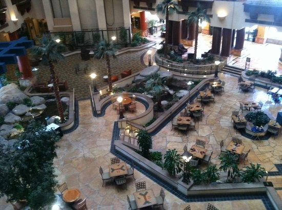 Hilton Phoenix Suites:                   Hotel Lobby / Atrium