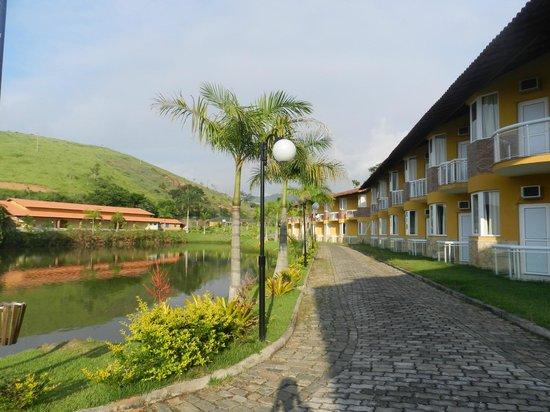 Vassouras Eco Resort : ÁREA DOS QUARTOS