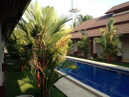 Binnenplaats Lanna Thai Villa