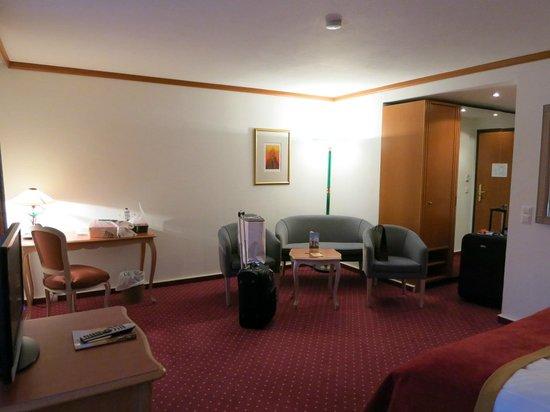 Luitpoldpark-Hotel :                   Room