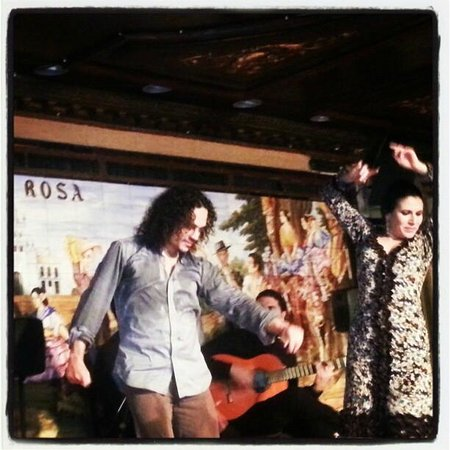 Tablao Flamenco Villa Rosa : David Paniagua y Guadalupe Torres