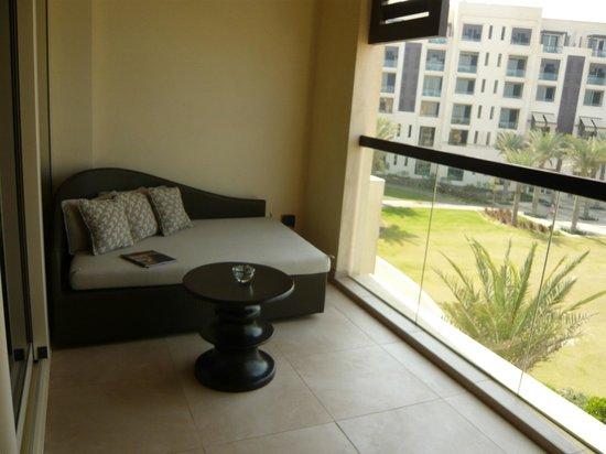 Park Hyatt Abu Dhabi Hotel & Villas:                   Balkon