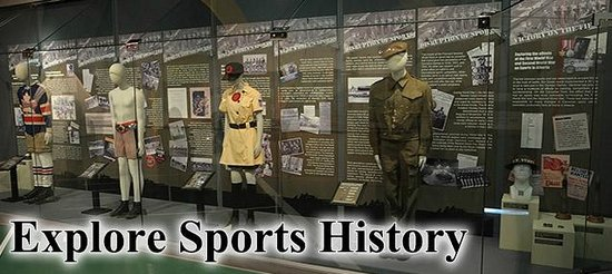 Alberta Sports Hall of Fame and Museum: Explore Sports History - Always New Exhibits To Explore!