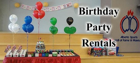 Alberta Sports Hall of Fame and Museum: Birthday Party Rentals