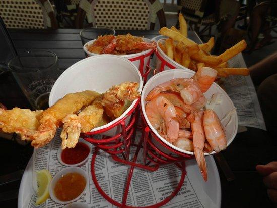 Bubba Gump Shrimp Co.:                   Shrimpsauswahl
