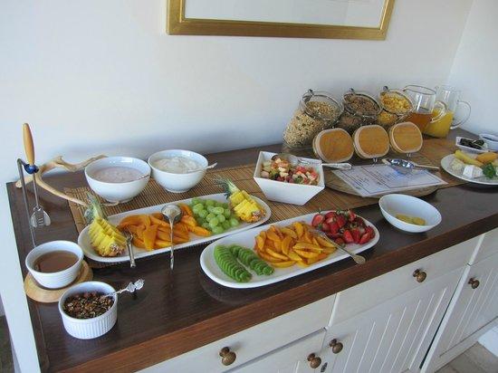 FrancolinHof :                   Breakfast 1st course!!