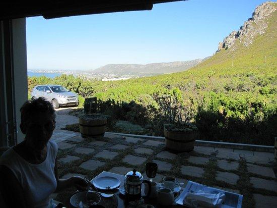 FrancolinHof :                   Breakfast view!