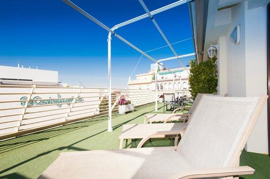Hotel Derby Sevilla: Terraza