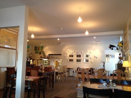 Álafoss Café:                   the restaurant