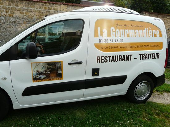 la gourmandi re saint ouen l 39 aumone restaurant avis num ro de t l phone photos tripadvisor. Black Bedroom Furniture Sets. Home Design Ideas
