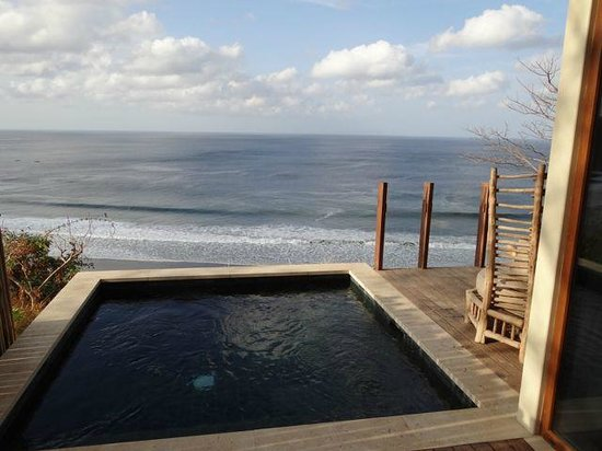 Mukul Luxury Resort and Spa:                   Private Bohia Plunge Pool