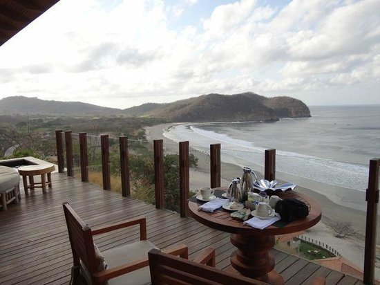 Mukul Beach Golf & Spa:                   Deck of Bohia