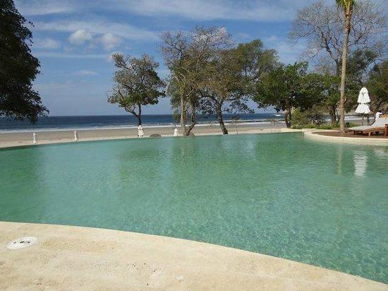 Mukul Beach Golf & Spa:                   One of the Main Pools