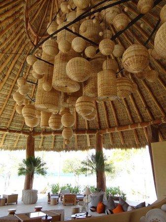 Mukul Beach Golf & Spa:                   Clubhouse Art Installation