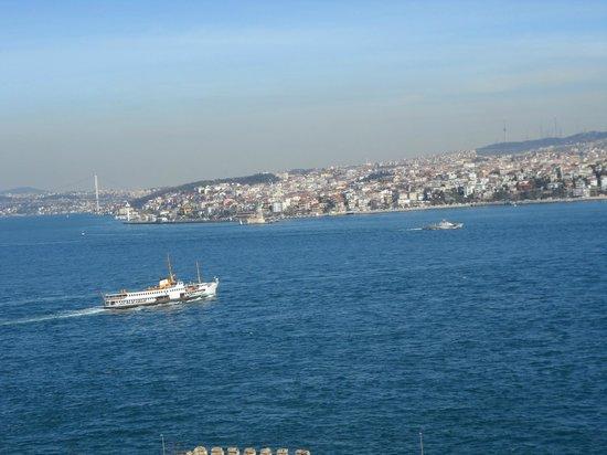 Burgazada: leaving Istanbul