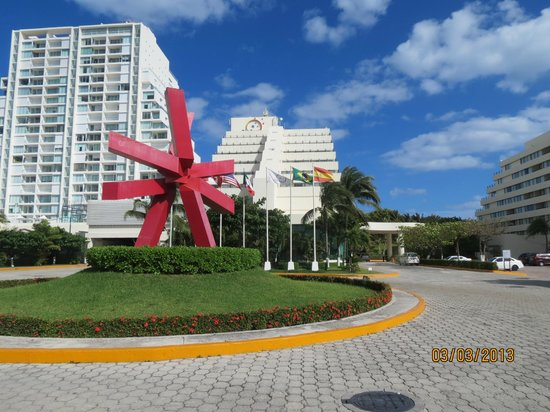Entrada do Park Royal Cancun