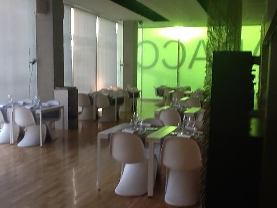 Restaurante Abaco:                                     esta es la sala
