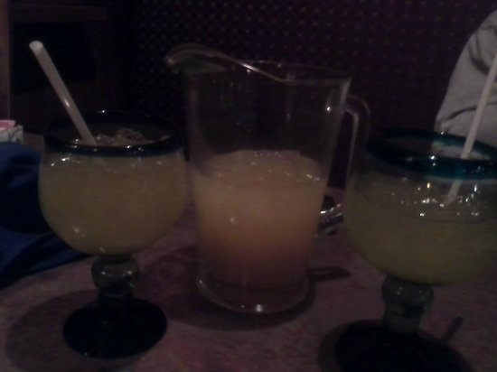 Emilianos Mexican Restaurant & Bar:                   The alcohol we left there-Mango Margarita