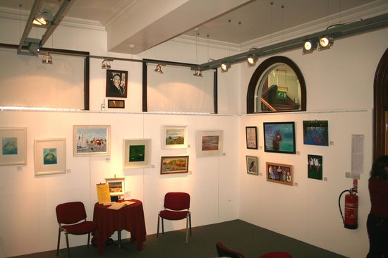 Larne Museum & Arts Centre: More of the art show on at the moment (March 2013).
