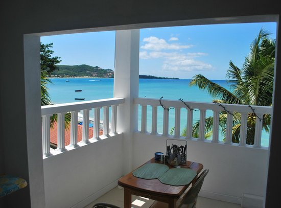 Grand Anse Beach Palace Hotel: view from  third floor