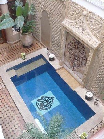 Riad Dar Beldia:                   le patio