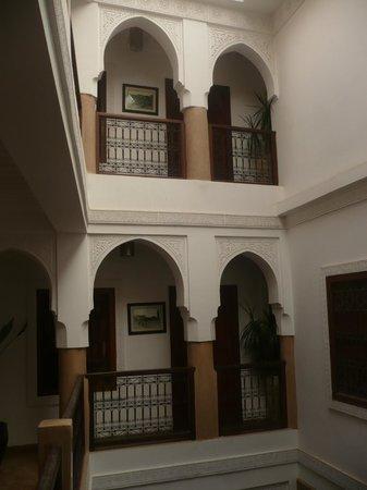 رياض دار بلدية:                   les 2niveaux de chambres                 