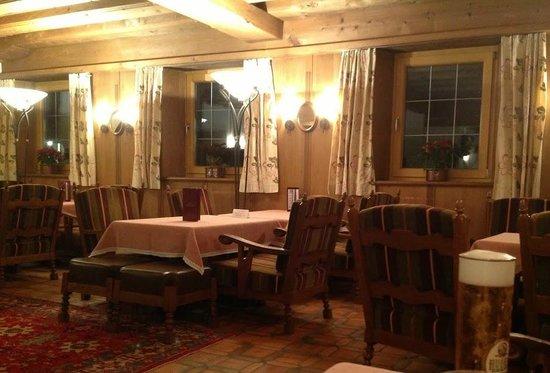 Hotel Jakobwirt:                   Part of the lounge