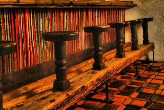 Hotel Jakobwirt:                   Bar next to dining room