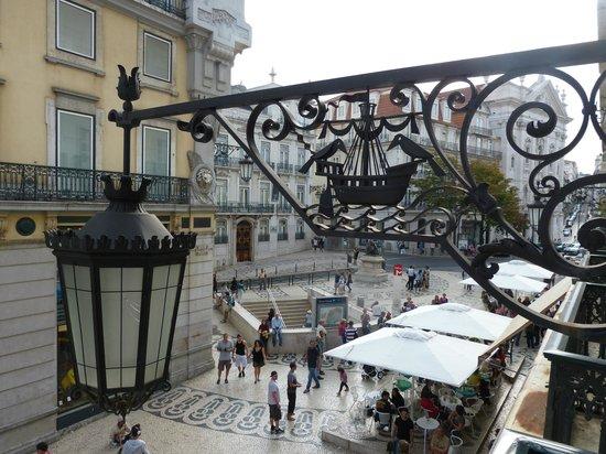 Hotel Borges Chiado: Ausblick 1