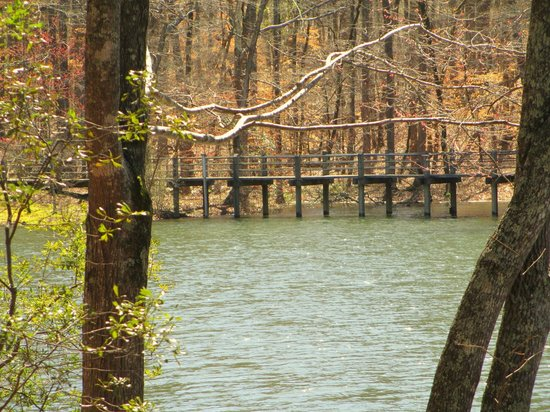 Bridges picture of callaway gardens pine mountain for Callaway gardens fishing