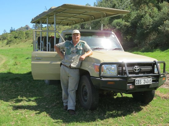 Botlierskop Private Game Reserve: Viljoen our guide for the stay and our transport