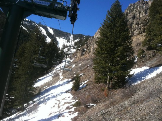 Sun Valley Resort:                   Getting a little bare
