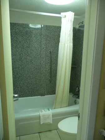 Clarion Hotel & Conference Center : Bathroom