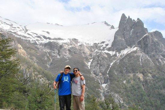 San Carlos de Bariloche, Argentina:                   Con la familia en el lopez